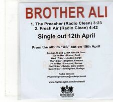 (FU868) Brother Ali, The Preacher / Fresh Air - 2010 DJ CD