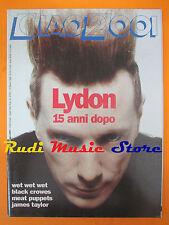 rivista CIAO 2001 10/1992 John Lydon Black Crowes James Taylor Wet Wet Wet No cd