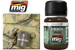 Streaking Grime For Dak Streaking Effects 35ml. A.MIG 1201 AMMO BY MIG JIMENEZ