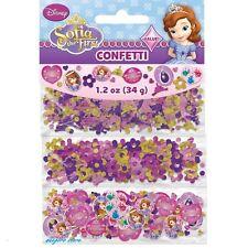 Disney Princess Sofia the First Confetti Birthday Party Supply Decoration Favors