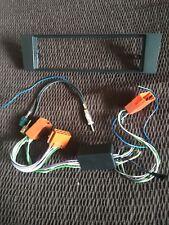 Radio AUDI A3 8P frontal de original a remplazo single DIN + antena + cables