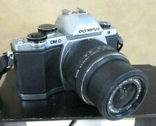 Olympus OM-D E-M10 Digital Camera + M.Zuiko 14-42mm IIR Lens Silver (JBC