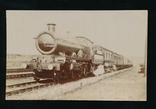Railway GWR #4014? Knight of the Bath at Kingsway Bath c1910/20s? RP PPC Pouteau