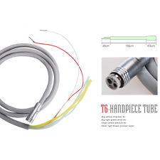 Dental Silicone Tubing Tube Cable Hose 6 holes for fiber optic LED Handpiece