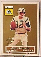 2005 TOPPS TURN BACK THE CLOCK JOE NAMATH JETS     WM15