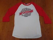 #2361-8 The Johnny Cash Museum 3/4 Sleeve Red & White Jersey M