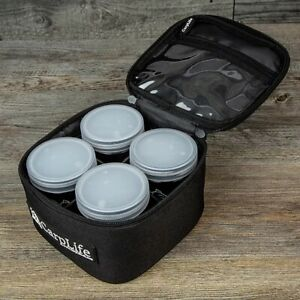 Carp Life Glug Pot Bag with 4 Pots NEW Carp Fishing Bag With Pots