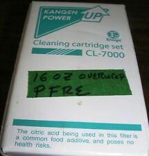 OEM KANGEN ENAGIC CLEANING CARTRIDGE SET CL-7000 FIRST CLASS SHIP-NOT A FILTER