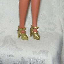 BARBIE DOTW FESTIVALS OF THE WORLD CARNAVAL GOLD HIGH HEEL SHOES DOLL ACCESSORY