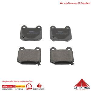 New Premium Brake Pads for NISSAN 350Z Z33 All -Rear Axel