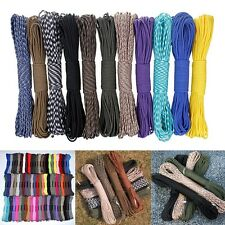 25ft Parachute Cord Paracord 7Strand Core Survival Rope/Outdoor camping/hiking U