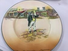 ROYAL DOULTON SERIES WARE CAPN CUTTLE DICKENS D6327 ANTIQUE DISPLAY PLATE