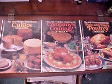 The Southern Heritage Cookbooks Lot of 3 Books Companys Coming Poultry Cakes USA
