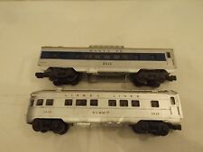 (2) O Lionel passenger cars, #2436 and #2412