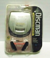 Sony D-191 Discman Portable CD Compact Disc Player with Headphones