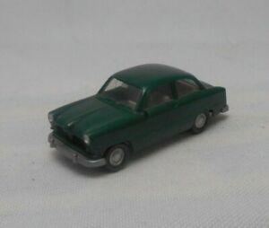 Wiking Germany HO 1:87 Scale Ford 12m Dark Green