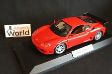 Bburago built transkit Ferrari 360 Modena 1:18 red (PJBB)