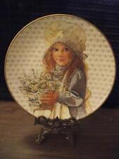 """""""Daisies from Mary Beth"""",Mothers Day Collector Plate by Jan Hagara #1 of 4 Plate"""
