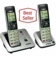 Vtech Cordless Phone with Accessory Handset & Backlit LCD Display - CS6619-2