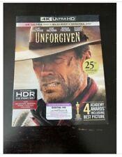 Unforgiven 4K Uhd Blu-ray, Like NewNo Digital Code