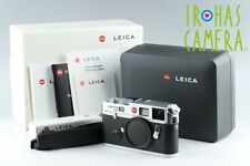 Leica M6 TTL 0.58 35mm Rangefinder Film Camera In Silver With Box #13567E1
