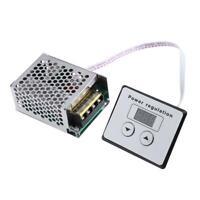 AC 220V 4000W SCR Thyristor Digital Control Electronic Voltage Regulator Dimmer
