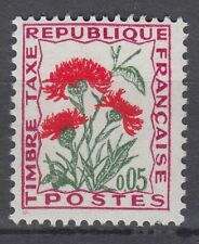 FRANCE TIMBRE TAXE NEUF N° 95 **  fleurs des champs centaure jacee