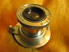 M39 rangefinder lens FED 3,5/50mm. Leica,Zorki...