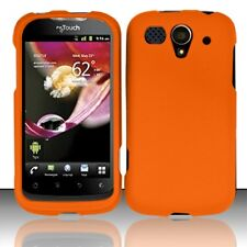 For T-Mobile Huawei myTouch U8680 Rubberized HARD Case Snap Phone Cover Orange