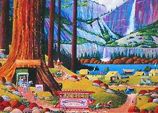 PUZZLE ....HERONIM......Yosemite Camping......1000...Factory Sealed...