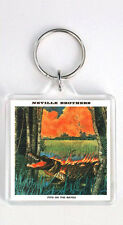 THE NEVILLE BROTHERS FIYO ON THE BAYOU 1981 LP COVER KEYRING LLAVERO