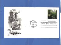 FIRST DAY ISSUE ASHER B. DURAND 32 CENT STAMP 1998 FDC AMERICAN ART
