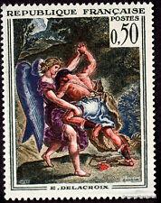 FRANCE - Yvert 1376 - TABLEAU PEINTURE DELACROIX -Timbre  neuf**