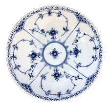 New ListingRoyal Copenhagen Denmark Blue Fluted Half Lace 8 Inch Round Vegetable Bowl #512