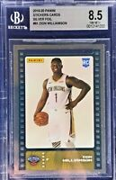 Zion Williamson 2019-20 Panini NBA Sticker & Card Collection Rookie Silver Foil
