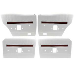 Ford XY GT Falcon White Door Panel Trim Set of 4