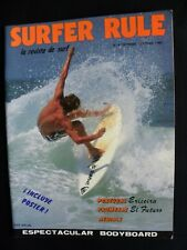 Surfer Rule Magazine 1990 #4 Sept./ Oct. Printed In Spanish Surfing Hawaii