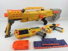Nerf N-Strike Bundle ~ Longshot CS-6 + Maverick Rev-6 + Handgun + 30x Ammo (3)