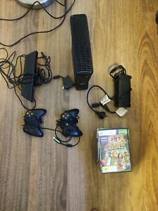 Microsoft Xbox 360 - Kinect- 250GB Matte Black - Games and Controllers