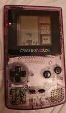 Nintendo Game Boy Color Handheld-Spielekonsole - transparent mit 4 spiele