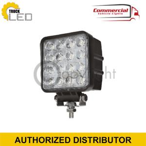 2 X HIGH POWER 48 W 12/24V LED WORK LAMP FLOOD LIGHT IVECO DAF MAN SCANIA VOLVO