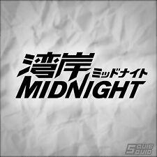 Wangan Midnight Logo Decal Sticker JDM Street Racing Drift Anime