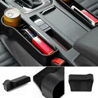 1 Pair Car Seat Gap Catcher Filler Storage Box Bottles Pocket Organizer Holder