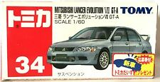 JAPAN TOMY TOMICA No.34 MITSUBISHI LANCER EVOLUTION EVO VII GT.A 1/60 DIECAST