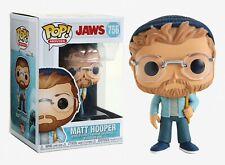 Funko Pop Movies: Jaws -Matt Hooper Vinyl Figure Item #38563
