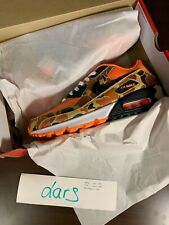 Nike Air Max 90 Orange Camo US 9.5 UK 8.5 EU 43.5