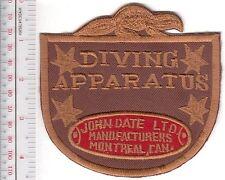 SCUBA Hard Hat Diving Canada John Date Diving Helmet & Apparatus Manufacturers r