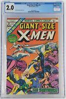 Giant-Size X-Men #2 CGC 2.0
