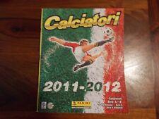 MANCOLISTA FIGURINE CALCIATORI PANINI 2011/12 2012 EDICOLA costo 10 cent