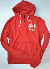 NWT Abercrombie & Fitch Mens Muscle Half Zip Fleece Hoodie Size XXL